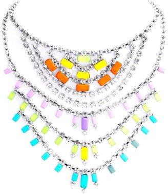 Tom Binns 'Dot Dash Tiered Baguette' necklace