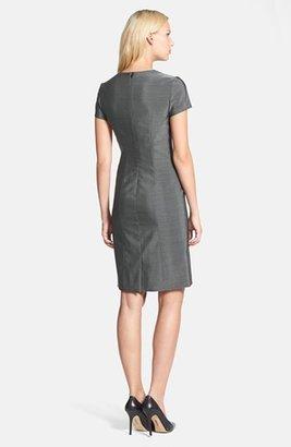 HUGO BOSS 'Deluise' V-Neck Sheath Dress