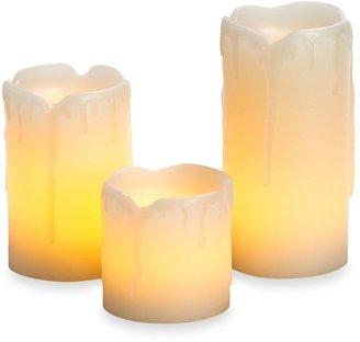 Candle Impressions® 3-Pack Flameless Mini Melted Drip Wax Candles