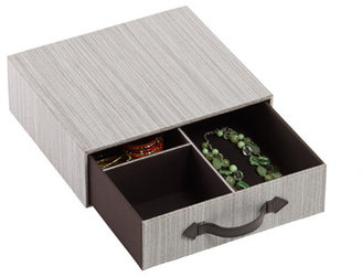 Container Store Parker 3-Section Drawer Cappuccino