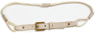 Elegantly Waisted Sandy Belt in Birch