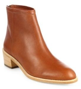 Loeffler Randall Felix Leather Ankle Boots