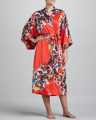 Natori Erdene Charmeuse Robe