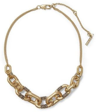 Kenneth Cole New York Pave Link Frontal Necklace
