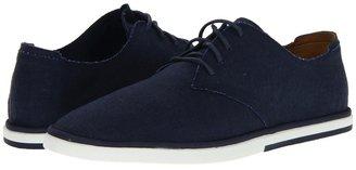Rockport Weekend Style Plain Toe (Navy Linen) - Footwear