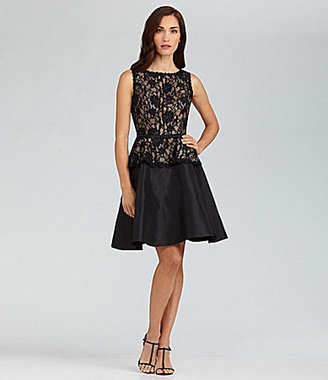 Jessica Howard Lace Peplum Dress