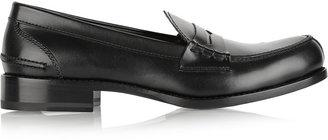 Jil Sander Leather penny loafers