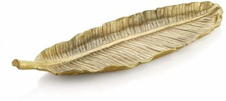 Michael Aram Banana Leaf Large Gold Platter