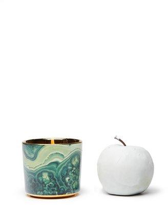D.L. & Co. Malachite Mineral Candle