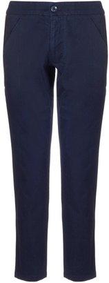 Folk Navy Denim Cord Trousers