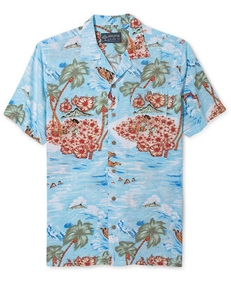American Rag Shirt, Maui Wowie Short-Sleeved Shirt