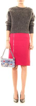 Fendi Baguette graphic beaded bag