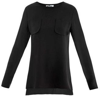Jil Sander Nagisa silk blouse
