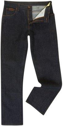 Wrangler Men's Straight leg mid wash jeans