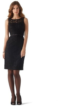 White House Black Market Guipure Lace Dress