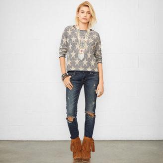 Denim & Supply Ralph Lauren Star Crewneck Sweater