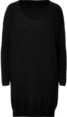 Dear Cashmere Wool Tunic in Black