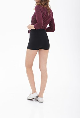 Forever 21 Banded Waist Knit Shorts