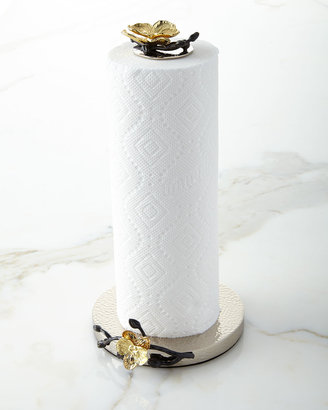 Michael Aram Gold Orchid Paper Towel Holder