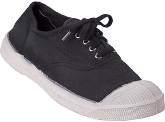 Bensimon Classic Lace Sneaker Black Canvas