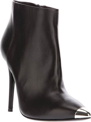 Baldan metallic toe ankle boot