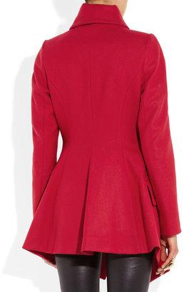 Vivienne Westwood Cloud wool-blend felt asymmetric coat
