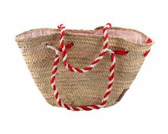Souk Market Baskets Lina Basket Red White