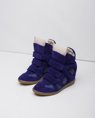 Isabel Marant burt high-top sneaker