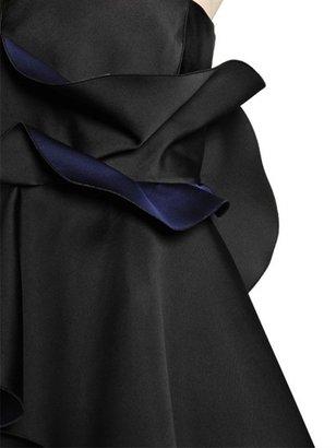 Viktor & Rolf Ruches Bonded Duchesse Dress