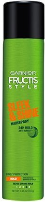 Garnier Fructis Style Sleek & Shine Hairspray, All Hair Types, 8.25 oz. (Packaging May Vary) $4.29 thestylecure.com