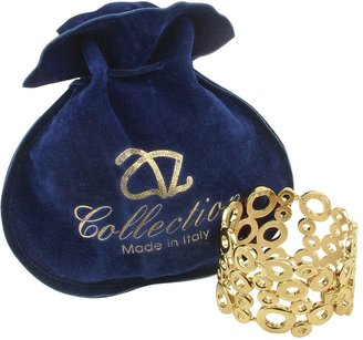 A-Z Collection Gold Plated Cuff Bracelet