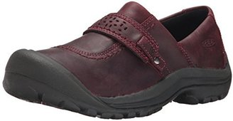 KEEN Women's Kaci Full-Grain Slip On Shoe $110 thestylecure.com
