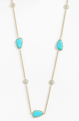 Kendra Scott 'Kinley' Long Station Necklace (Nordstrom Exclusive)