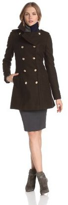 Tommy Hilfiger Women's Fitted Military Coat