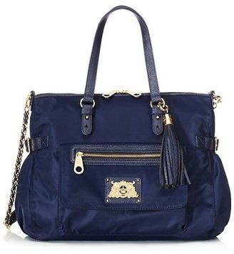 Juicy Couture Malibu Nylon Zip Top Tote