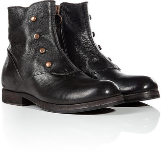 Fiorentini+Baker Fiorentini & Baker Leather Ankle Boots with Spats