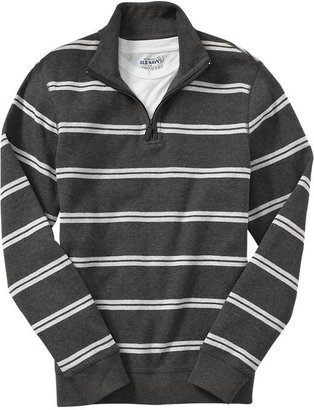 Old Navy Men's Textured-Rib Mock-Neck Pullovers