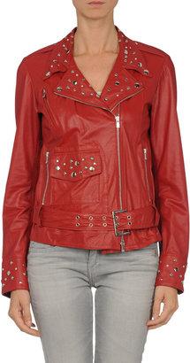 DINOU by JOAQUIM JOFRE' Leather outerwear