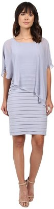 Adrianna Papell - Chiffon Drape Overlay With Banding Women's Dress $158 thestylecure.com