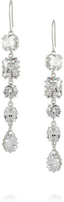Kenneth Jay Lane Cubic zirconia drop earrings