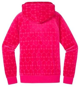 Juicy Couture Original Jacket in Heart Jacquard Velour