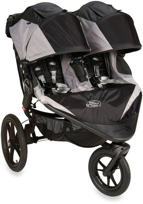 Baby Jogger Summit X3 Double Stroller in Black/Grey