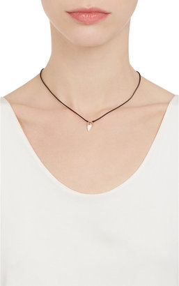 Dezso by Sara Beltran Gold & Shark Tooth Pendant Necklace