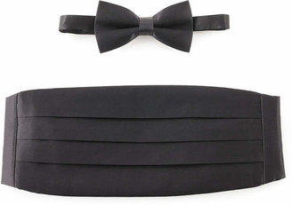 Michelsons of London Tie, Bow Tie & Cummerbund Set $75 thestylecure.com