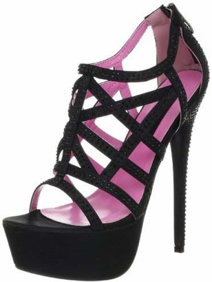 The Highest Heel Women's Bombshell-21 Platform Sandal