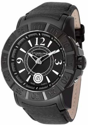 Stuhrling Original Men's 543.332D51 Lifestyle Sentry Quartz PVD Watch