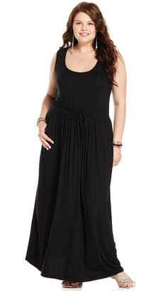 American Rag Plus Size Dress, Sleeveless Maxi