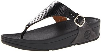 FitFlop Women's The Skinny Flip-Flop $90 thestylecure.com