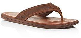 UGG Men's Seaside Leather Flip-Flops