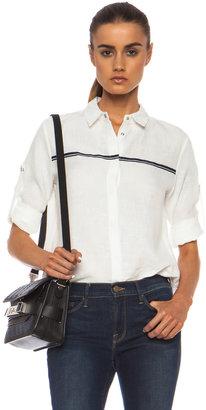 Rag and Bone rag & bone Swan Linen Shirt in White